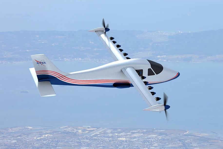avião elétrico nasa 2