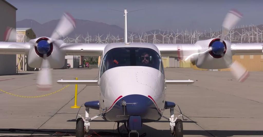 avião elétrico nasa 4
