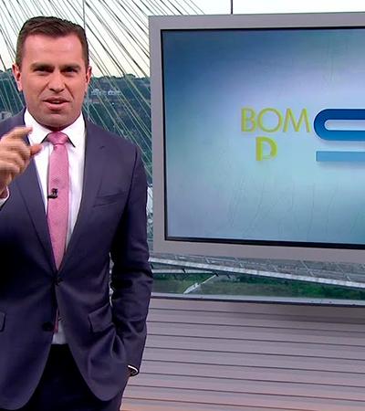 Rodrigo Bocardi discute com espectador ao vivo por causa de lixo: 'Piada é você'