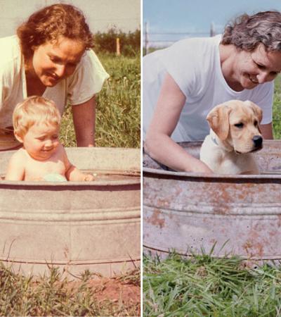 Campanha mostra como um cão adotado pode transformar a vida de uma família