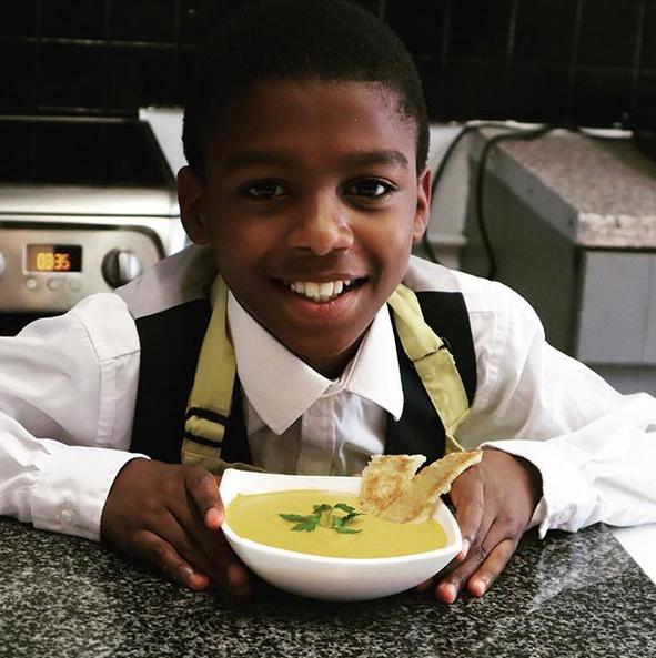 chef de 11 anos vegano 3