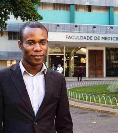 Aluno da UFMG, congolês ganha prêmio internacional por combate à malária