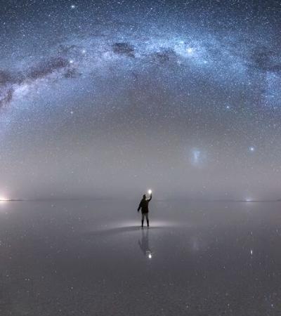 Ele levou 3 anos para fotografar a Via Láctea e o resultado é incrível