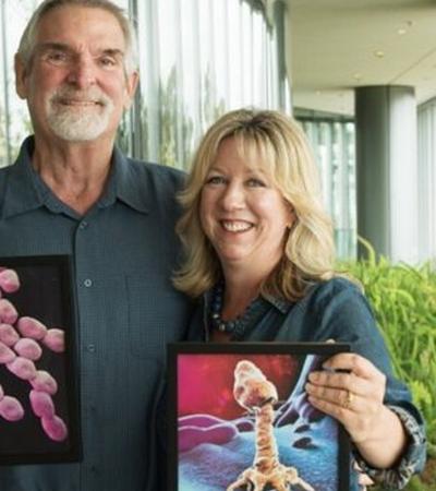Como ela salvou a vida do marido infectado pela 'pior bactéria do mundo'