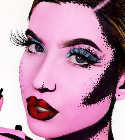 Estas garotas de 16 e 18 anos superaram todos os limites da maquiagem