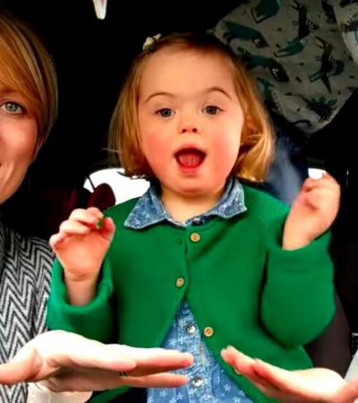 50 mães e filhos com down fazem maravilhoso karaokê de sinais e viralizam