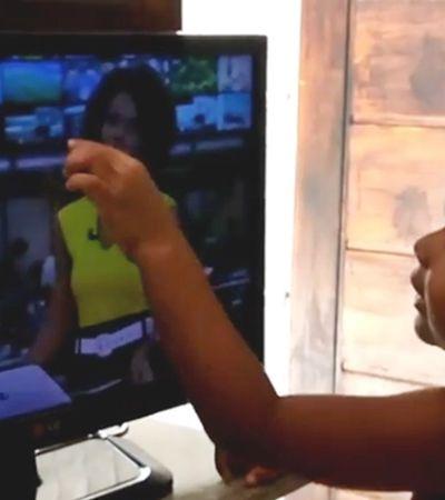 Maju zera jogo da representatividade com vídeo de fã mirim elogiando cabelo: 'Não dá pra resistir'
