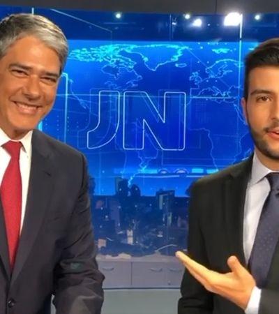 'Espero o dia que isso não seja mais notícia', diz Matheus Ribeiro após estreia no JN