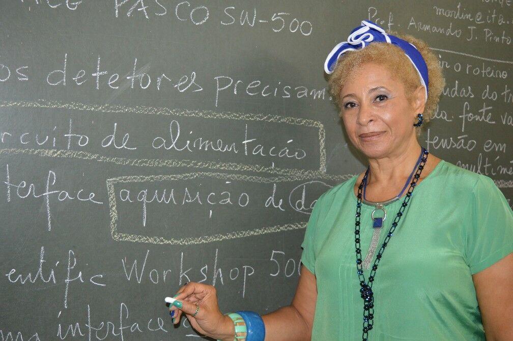 primeira doutora em física negra brasil 1