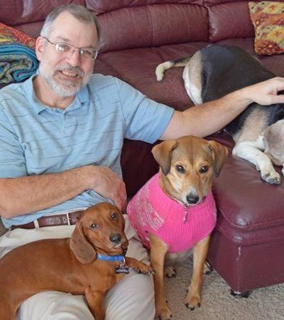 Homem cria abrigo para cachorros idosos abandonados e reafirma fé na humanidade