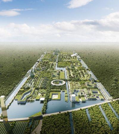 Inspirada em civilização Maia, 1ª cidade eco inteligente vai ser erguida em Cancún