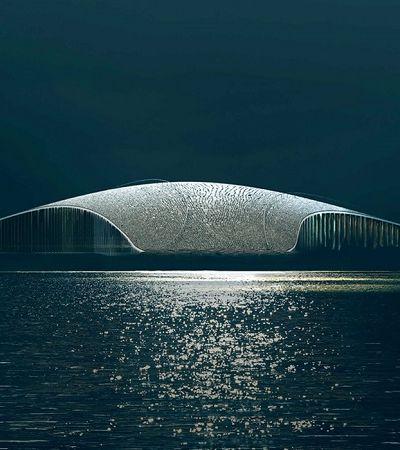 Este edifício em forma de baleia é uma das coisas mais fantásticas já criadas pela arquitetura