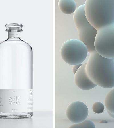 Conheça a vodka feita de 'nada', produzida a partir de energia solar, água e CO2