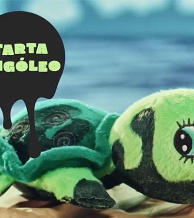 Campanha ácida cria brinquedos oleosos 'para quem não pensa no futuro'