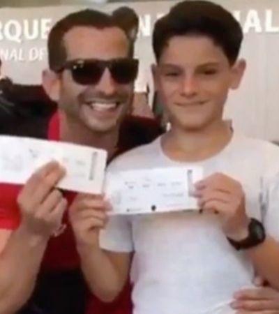 Filho pensou que ia se despedir do pai no aeorporto, mas vai ver o Flamengo no Catar