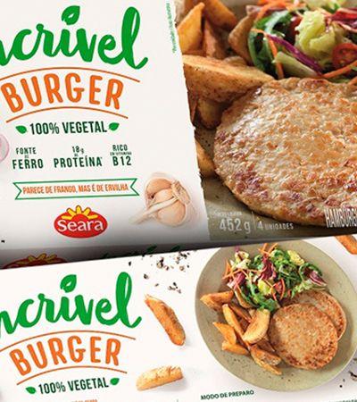 Hambúrguer vegetal vende 6 vezes mais que o esperado e Seara anuncia linha completa