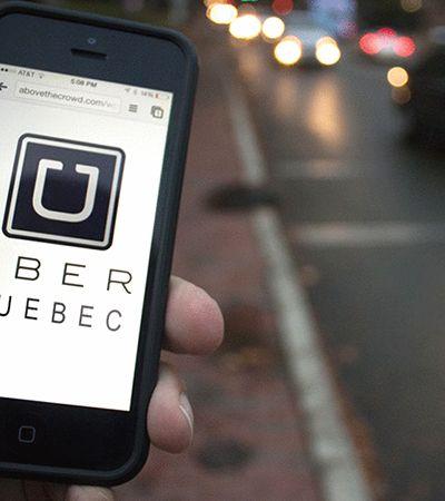 Em Quebec, Uber será forçado a compartilhar localização de usuário durante viagem