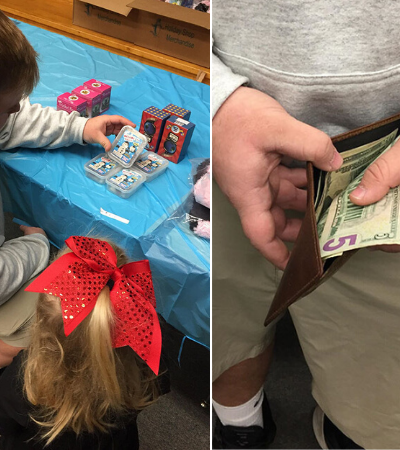 Adolescente gasta todo seu dinheiro para comprar presentes de natal à crianças desconhecidas