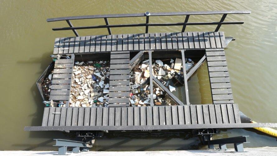 armadilha plásticos rios 1