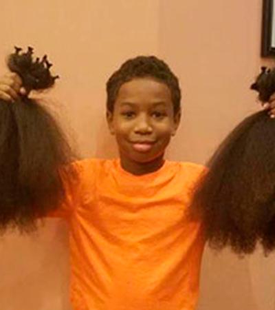 Ensaio mostra transformação de pessoas que doaram cabelo para pacientes com câncer