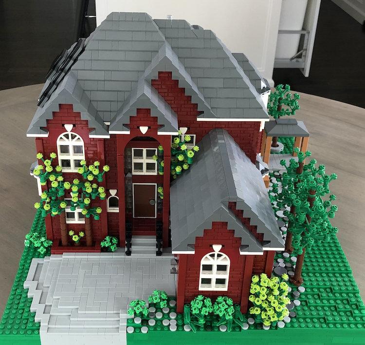 casas reais lego 1