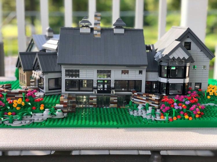 casas reais lego 3
