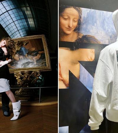 Marca cria coleção cápsula inspirada em Leonardo da Vinci em parceria com o Louvre