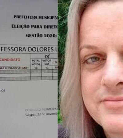 Primeira diretora trans de escola de Santa Catarina se surpreende com apoio dos pais