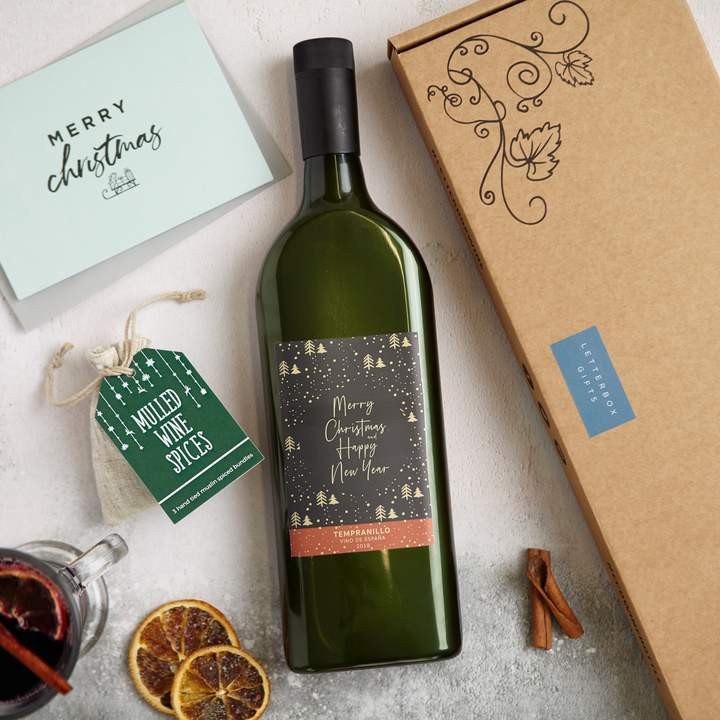 garrafa de vinho plana 5
