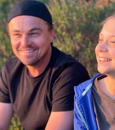 Greta Thunberg e Leonardo DiCaprio se unem pelo meio ambiente