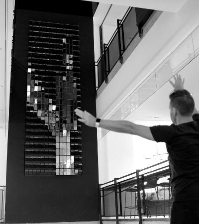 A maravilhosa instalação de arte que capta o batimento cardíaco das pessoas