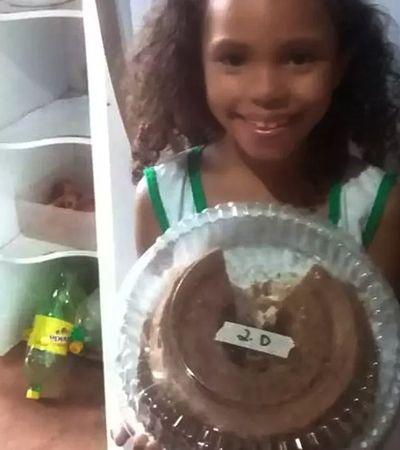 Mãe viraliza com post cheio de amor após de filha ter bolo rejeitado na escola