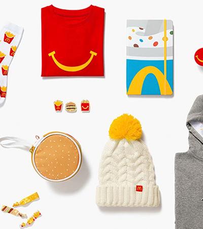 McDonald's lança linha de roupas e acessórios inspirados no Big Mac