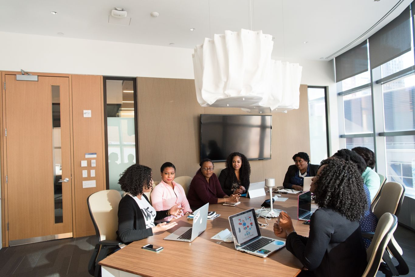 mulheres cargos administrativos africa 4