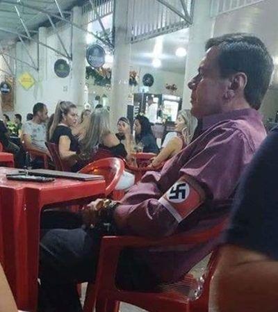 Homem que usou suástica nazista em bar é pecuarista de 57 anos