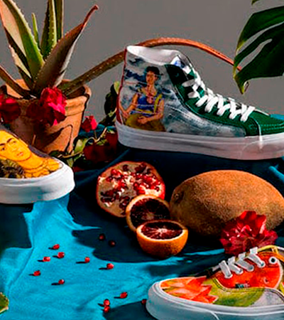Vans da Frida e Barbie do David Bowie: eis os produtos mais criativos do ano