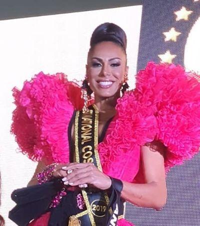 Mineira vence concurso e é eleita a trans mais bonita do mundo