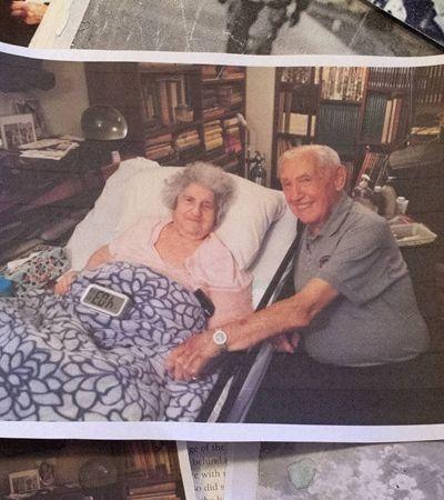 Namorados presos juntos em Auschwitz se encontraram 72 anos depois