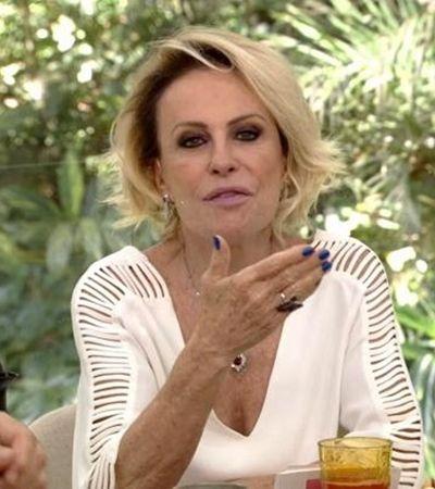 Ana Maria Braga confirma diagnóstico de câncer do pulmão