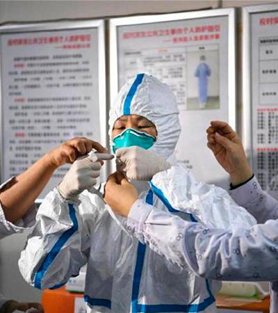 Fotos mostram realidade de médicos que trabalham no centro nervoso do coronavírus