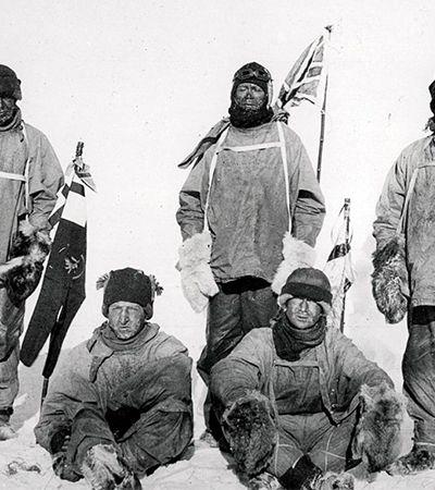 Registros de uma expedição à Antártica no começo do século passado por Herbert Ponting