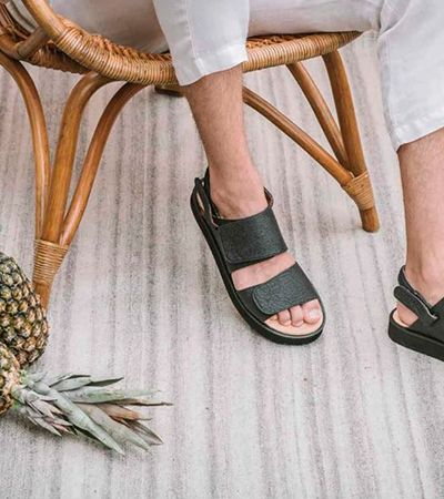 Calçado vegano feito com 'couro' de abacaxi é aposta de empresa gaúcha