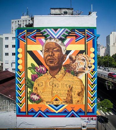 Instagrafite cria 'circuito do spray' para aniversário de São Paulo