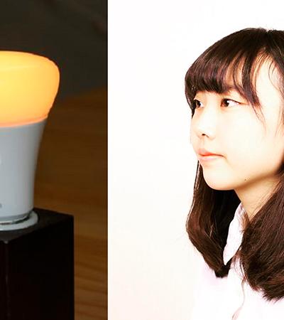 Esta youtuber criou uma lâmpada que acende quando o namoro termina