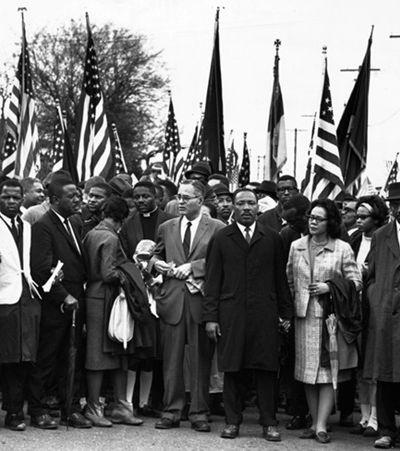 Martin Luther King derrubou última trincheira segregada garantindo aos negros o direito ao voto