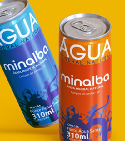 Minalba inicia venda de água em lata de alumínio e meio ambiente respira