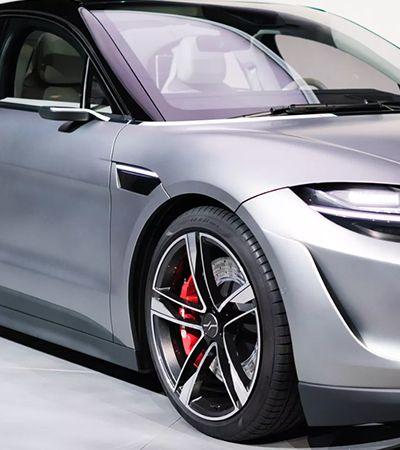Vision-S: detalhes do novo carro elétrico lançado pela Sony