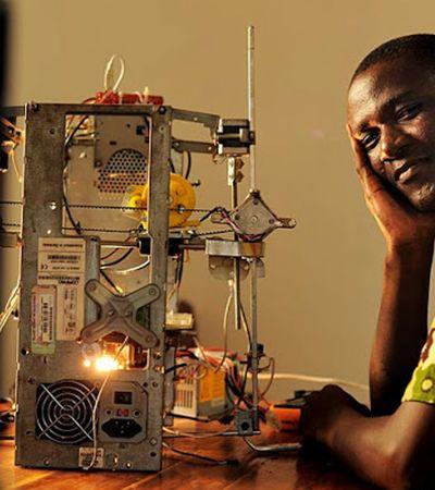 África: togolês cria primeira impressora 3D a partir de materiais recicláveis do continente
