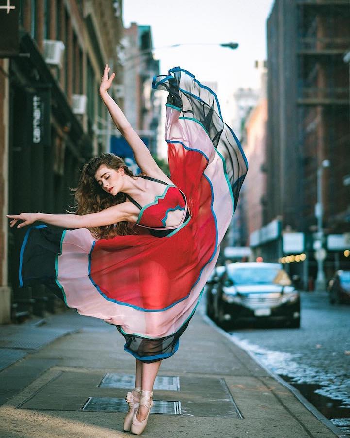 balé em Nova York 1