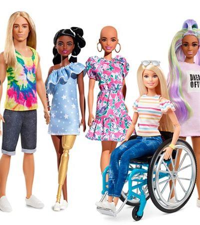 Barbie apresenta versões com vitiligo e careca; veja fotos